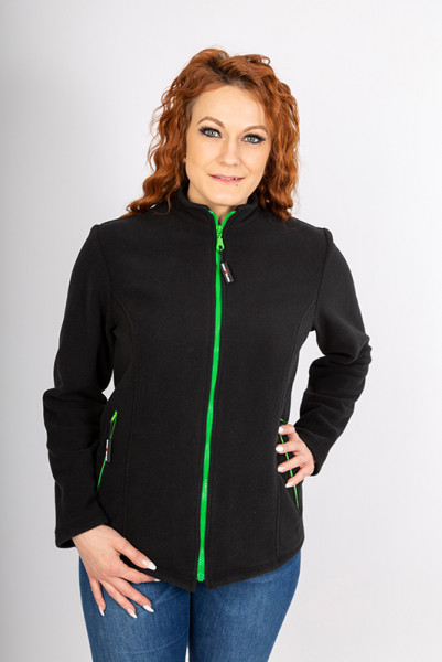 Performance Damen- Fleecejacke Emma_Black Edition von Enrico Wieland Berufsbekleidung
