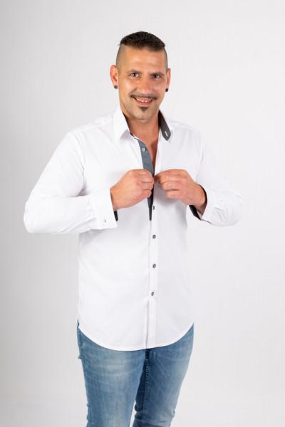Casual Shirt Rike_White Temptation
